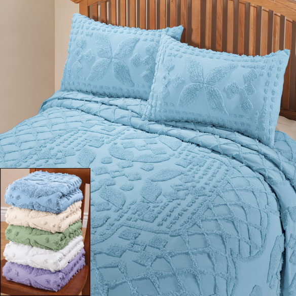 The Jacqueline Chenille Bedding by East Wing Comforts™ - View 2