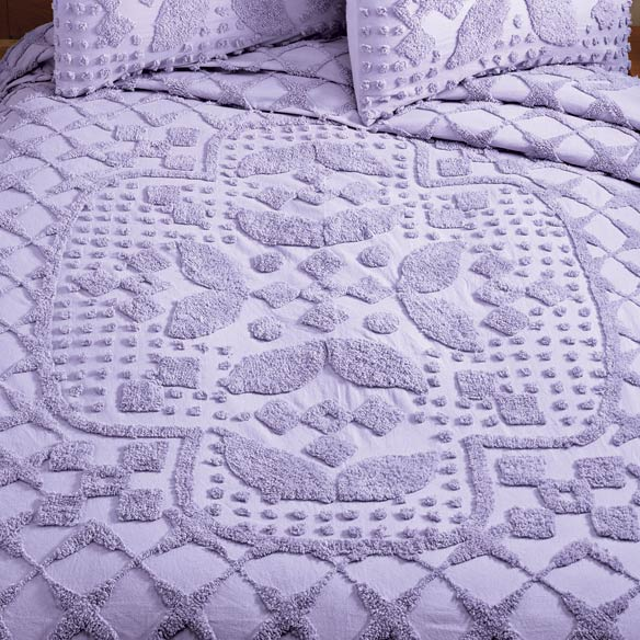 The Jacqueline Chenille Bedding by East Wing Comforts™ - View 5