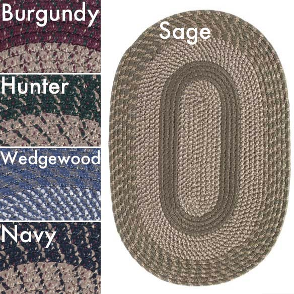 Oval Braided Rug by OakRidge™ - View 2