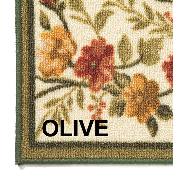 Floral Tapestry Rug - View 4