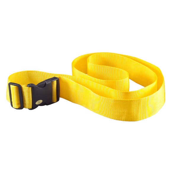 Personalized Yellow Luggage Strap - View 4
