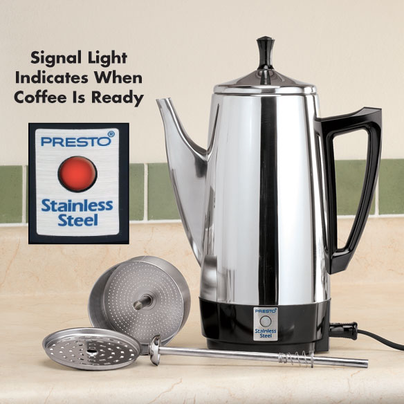 Presto® Stainless Steel Percolator - View 2