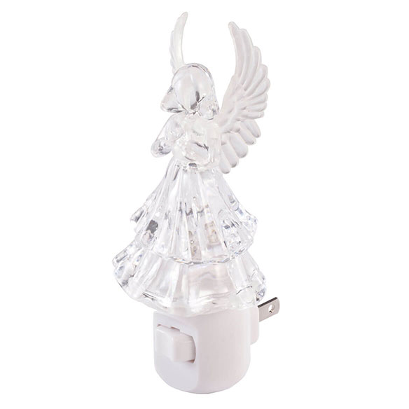 Color Changing Angel Night Light - View 2