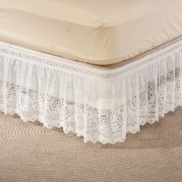 Lace Bed Ruffle Lace Bed Skirt Lace Dust Ruffle