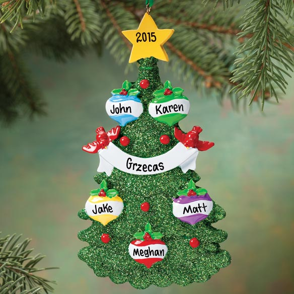 Personalized Christmas Tree Ornament - View 3
