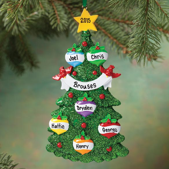 Personalized Christmas Tree Ornament - View 4