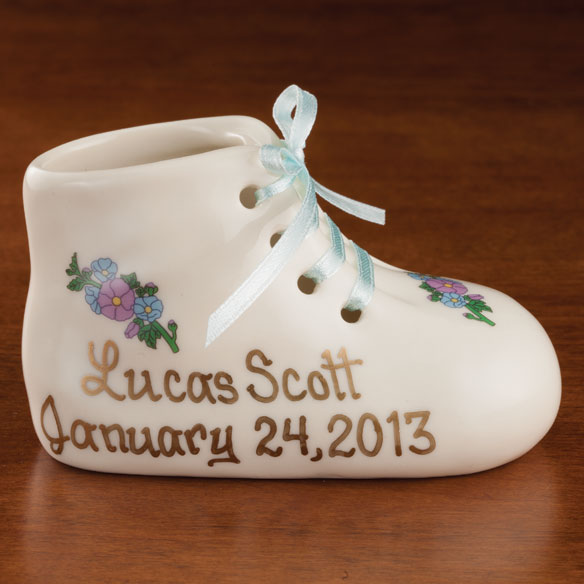Personalized Deluxe Baby Bootie - View 2