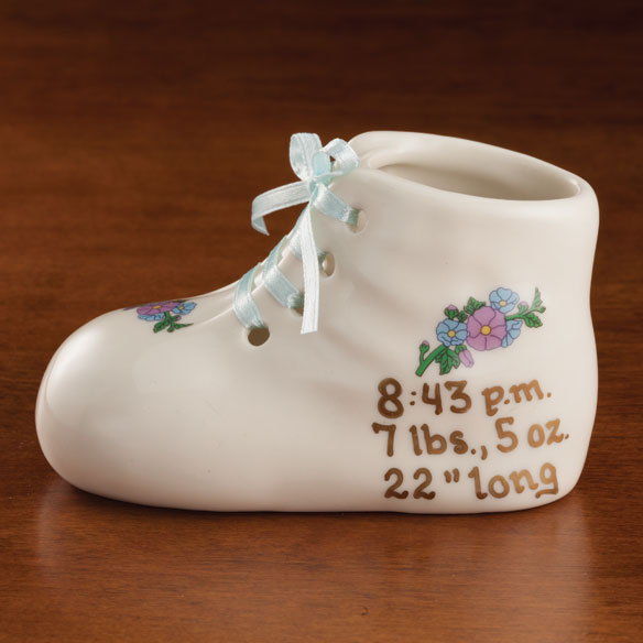 Personalized Deluxe Baby Bootie - View 3