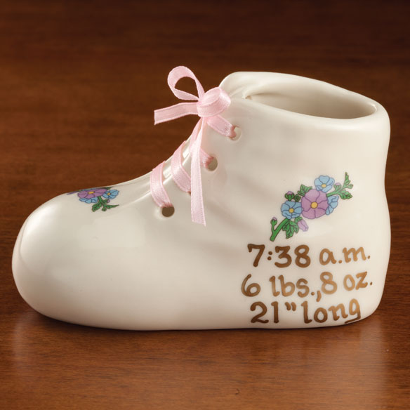 Personalized Deluxe Baby Bootie - View 4