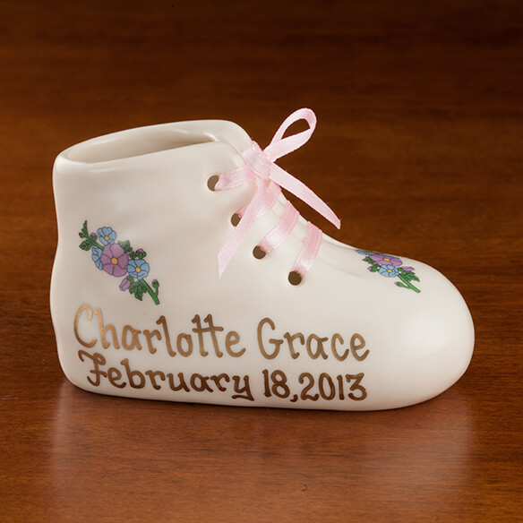 Personalized Baby Bootie - View 2