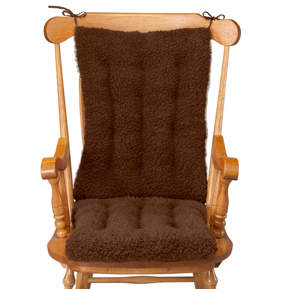 Sherpa Rocking Chair Cushion Set by OakRidge™ - View 5