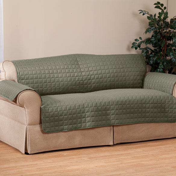 Microfiber Loveseat Protector by OakRidge™ - View 3