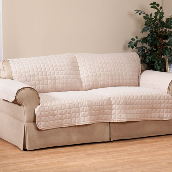 Microfiber Sofa Protector by OakRidge Comforts™ - View 3