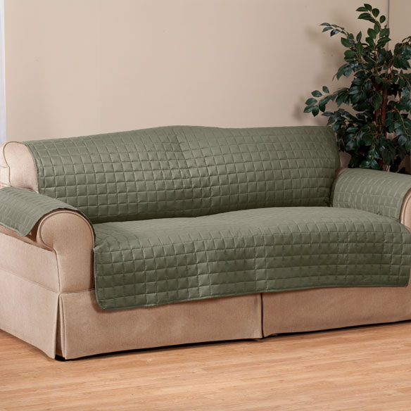 Microfiber Sofa Protector by OakRidge Comforts™ - View 4