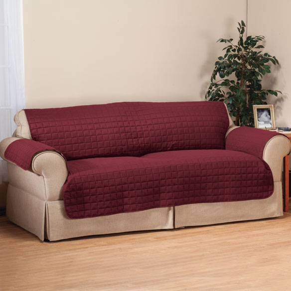 Microfiber Sofa Protector by OakRidge™ Comforts - View 5