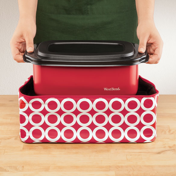 West Bend® Cook & Tote™ - Red - View 2