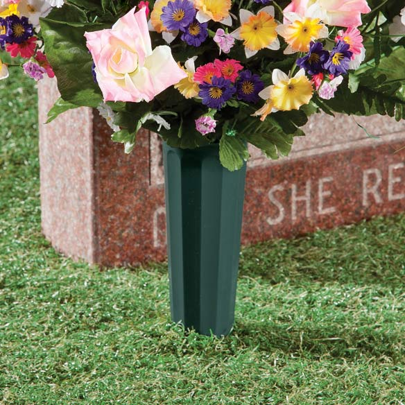 Cemetery Vases -  Set of 2 - View 2