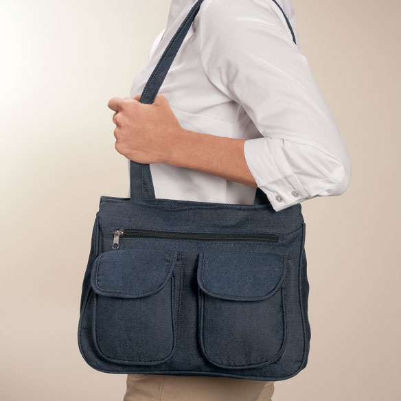 Denim On-The-Go 3 Piece Handbag - View 2