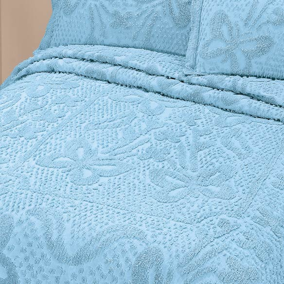 The Caroline Chenille Bedding by East Wing Comforts™ - View 3