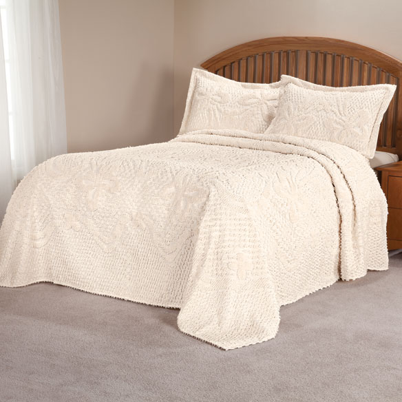 The Caroline Chenille Bedspread by OakRidge™ Comforts - View 5