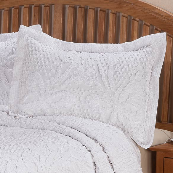 The Caroline Chenille Sham by OakRidge™ Comforts - View 3