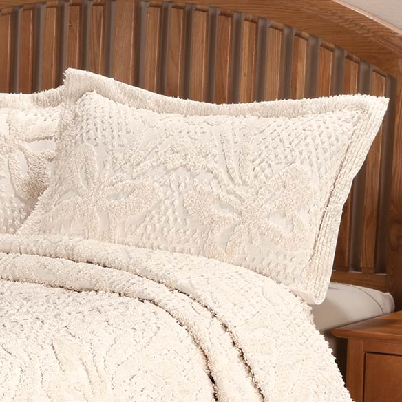 The Caroline Chenille Sham by OakRidge™ Comforts - View 5