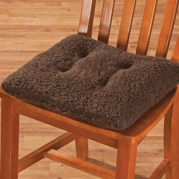 Sherpa Chair Pad by OakRidge Comforts™ - View 3