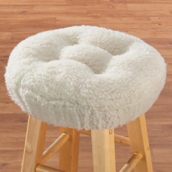 Sherpa Bar Stool Cushion by OakRidge Comforts™ - View 5