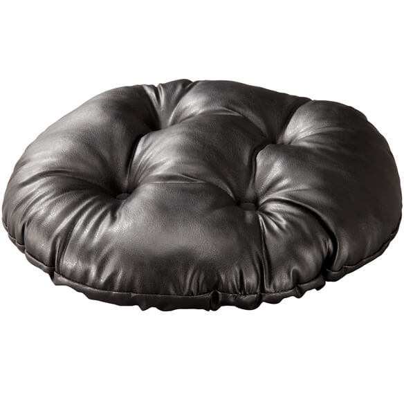 Faux Leather Bar Stool Cushion - View 4