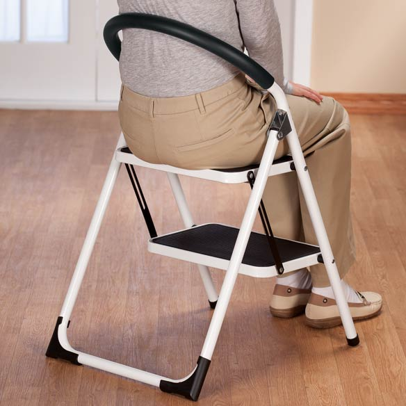 ... Step Ladder Stool Combo - View 4 & Step Ladder Stool - Step Stool Chair - Step Stool Ladder - Walter ... islam-shia.org