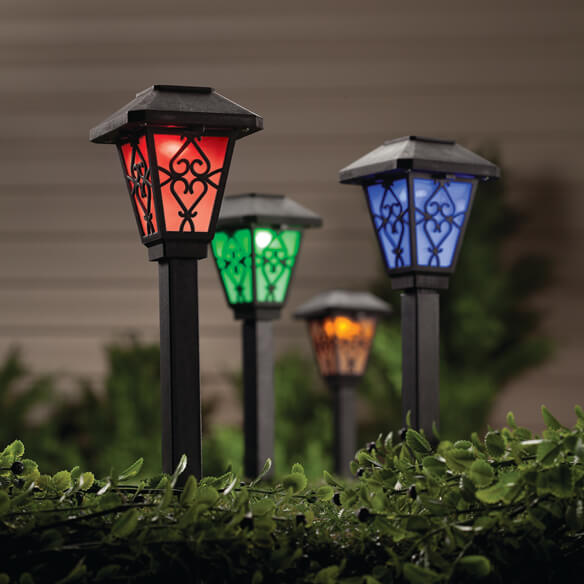 Color Changing Solar Light - View 2