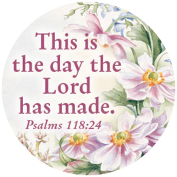 Religious Floral Stickers - Set Of 144 - View 2