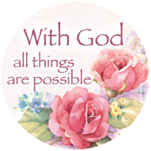 Religious Floral Stickers - Set Of 144 - View 3