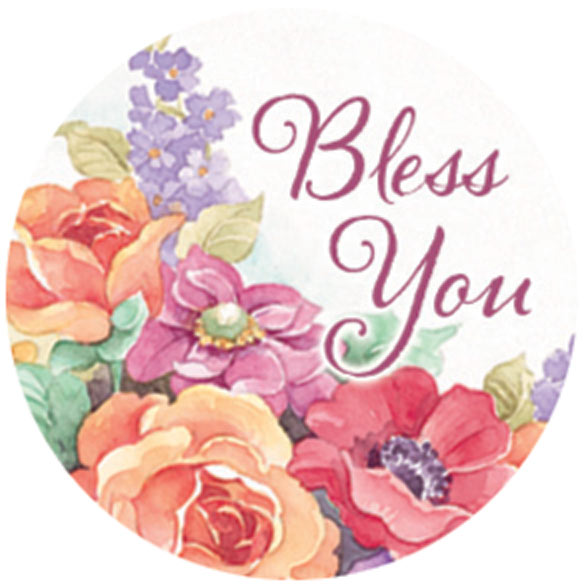 Religious Floral Stickers - Set Of 144 - View 5