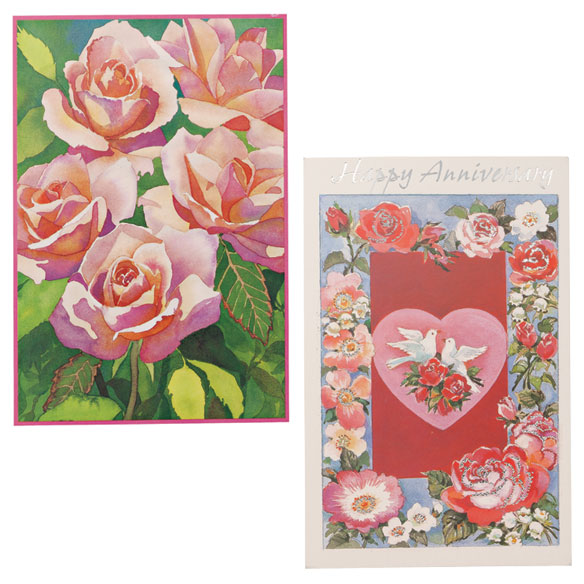 Anniversary Cards Assortment - Pack Of 24 - View 3