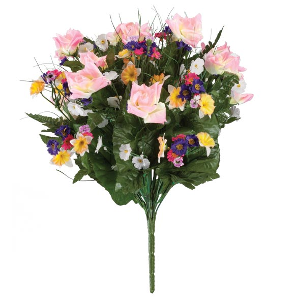 Spring Floral Memorial Bouquet by OakRidge™ - View 2