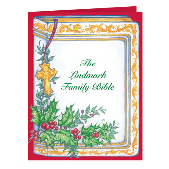 Your Family Bible Christmas Card Set of 20 - View 2