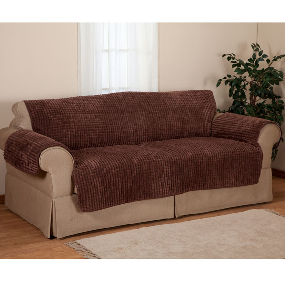 Chenille Loveseat Furniture Protector - View 4