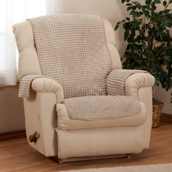 Chenille Recliner Furniture Protector - View 3