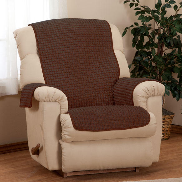 Chenille Recliner Furniture Protector - View 4