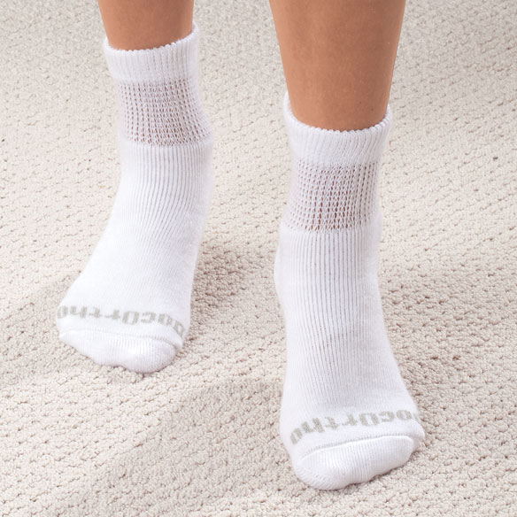 Quarter Cut DocOrtho™ Diabetic Socks - 3 Pack - View 2