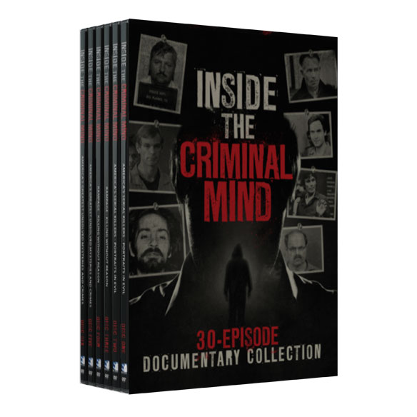 Inside the Criminal Mind: 30-Episode Documentary DVD set - View 2