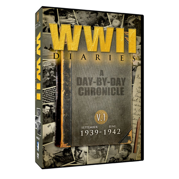 World War II Diaries—Volume 1 DVD Set - View 2