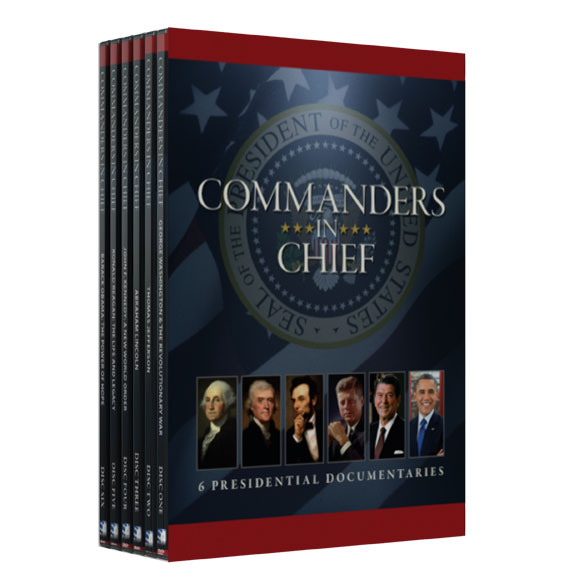 Commanders In Chief: 6 Presidential Documentaries DVD - View 2