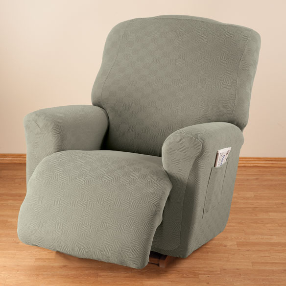 Newport Stretch Furniture Recliner Cover - View 2