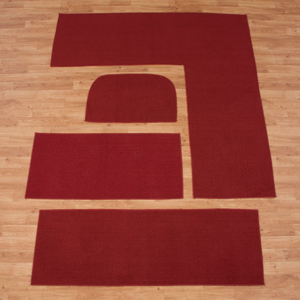Solid Non Slip Rug - View 3