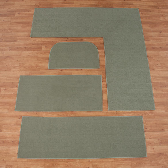 Solid Non Slip Rug - View 4