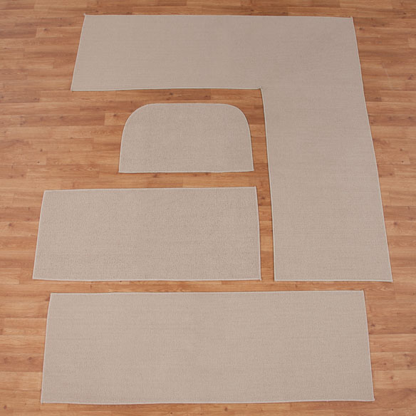 Solid Non Slip Rug - View 5