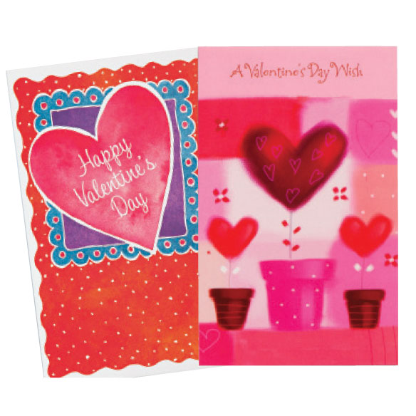 Valentine's Day Card Assortment, Set of 24 - View 2