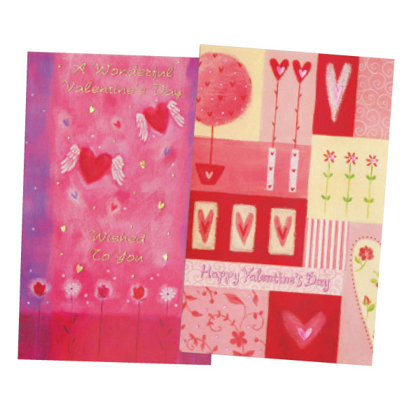 Valentine's Day Card Assortment, Set of 24 - View 3